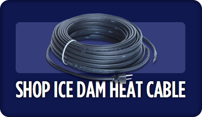 Buy Ice Dam Heat Tape / Heat Cable