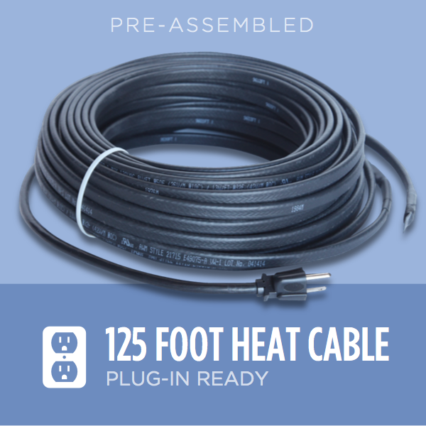 125 Foot Ice Dam Heat Cable