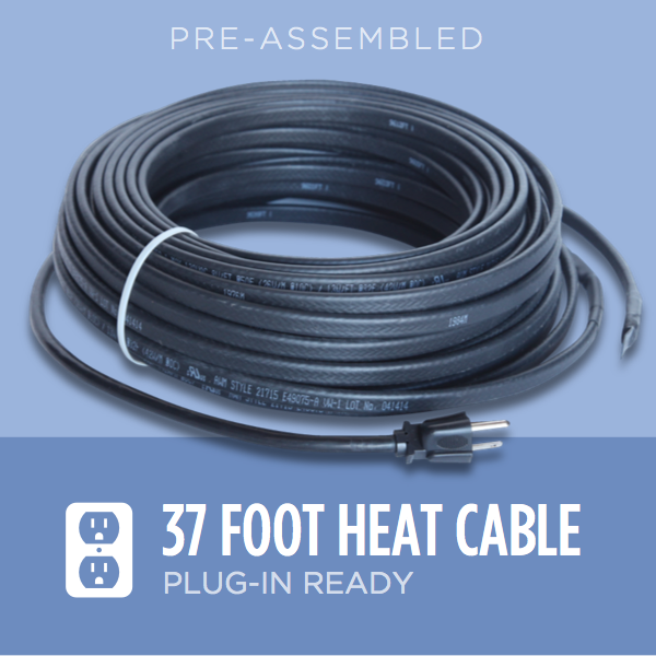 37-foot Ice Dam Heat Cable