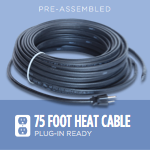 75-foot Ice Dam Heat Cable