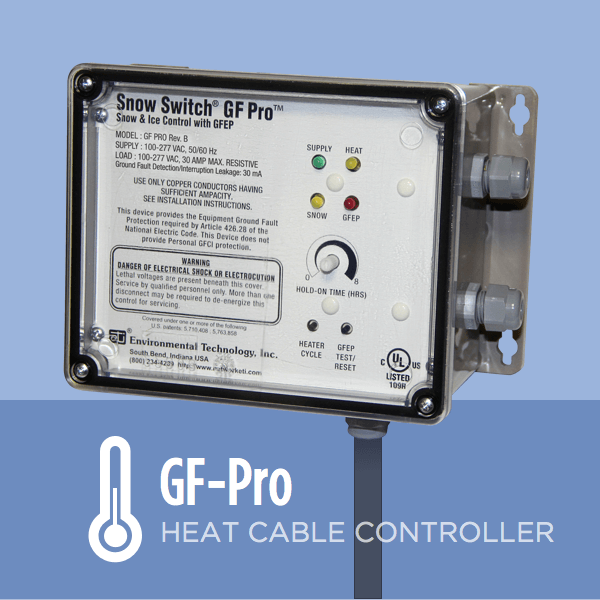 Ice Dam Prevention Snow Switch GF-PRO
