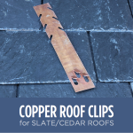 Slate Roof Heat Cable Clip