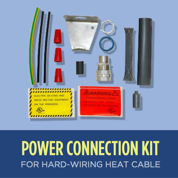 Heat Cable Power Connection Kit