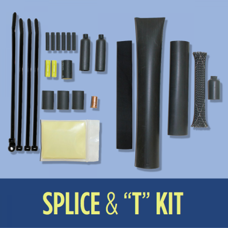 Heat Cable Splice and T Kit