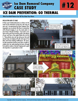 Ice Dam Prevention: Go Thermal