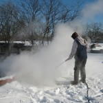 Roof Ice Removal