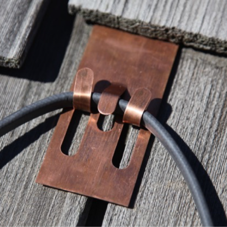 Cedar Roof Heat Cable Clip