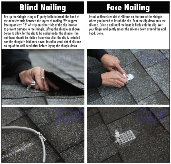 Heat Cable Roof Clip Installation Tips