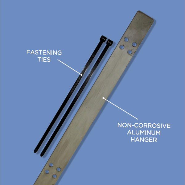 Heat Cable For Downspouts : Heat cable downspout hangers