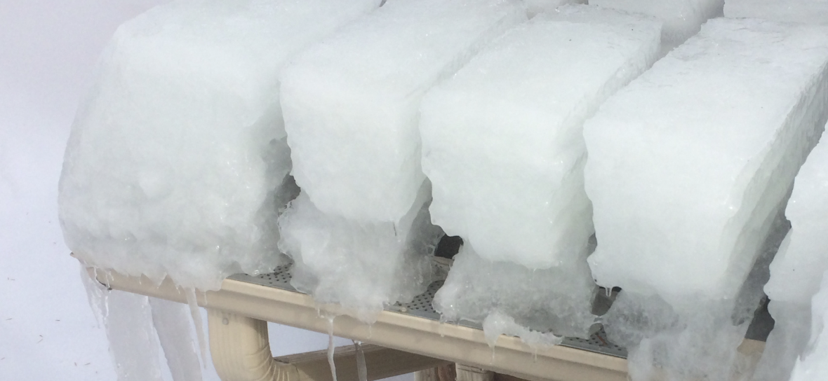 Gutter Ice Melting Cable For Ice Dam Prevention By The Ice Dam Company