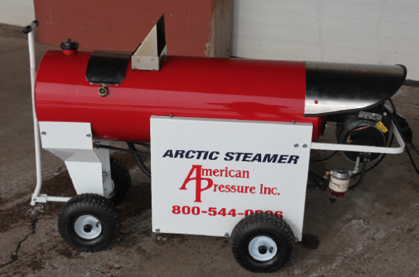 Ice dam steamer sales