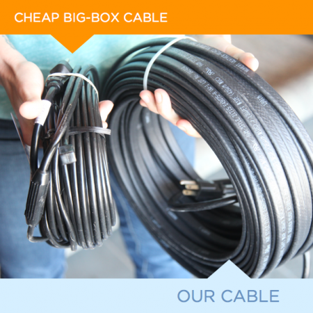 62-foot Ice Dam Heat Cable
