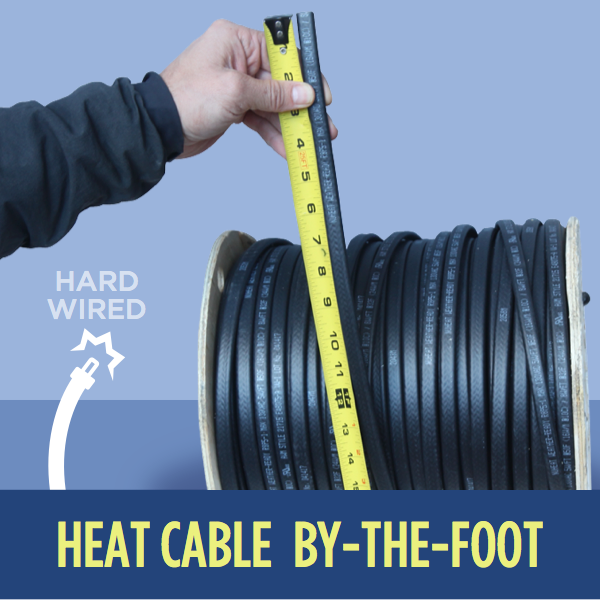Ice Dam Heat Cable by-the-Foot