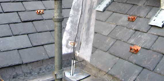 Ice Dam Heat Cable Clips For Slate Roofs