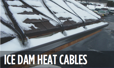 Ice Dam Heat Tape, Heat Cable