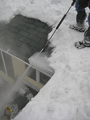 Gutter Ice Removal