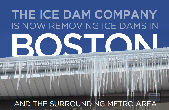 Removing Ice Dams in Boston