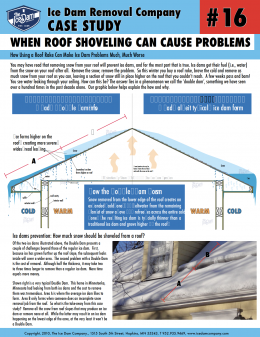 When Roof Shoveling Can Cause Problems